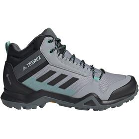 adidas TERREX AX3 Mid Gore-Tex Zapatillas Senderismo Mujer, gris